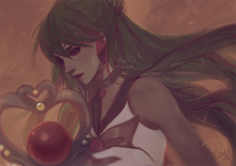 Sailor Pluto and the Garnet Orb